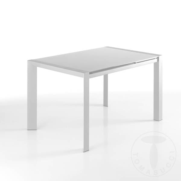 Rectangular Extendable Table - Valla White