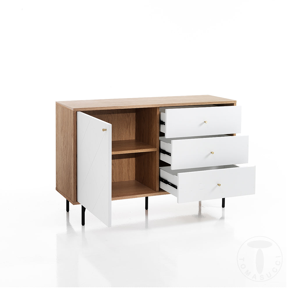Sideboard TV Stand Little - Diamond White