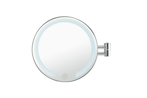 Wall Mounted Double Arm Mirror with LED Technology - Alinterio
