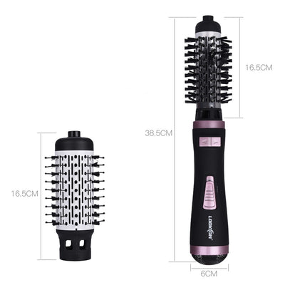 The Magic Wand - 2 IN 1 Hair Drying Auto Rotating Curling Brush