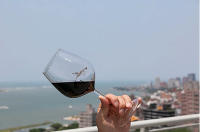WineVive™ Shark Wine Glass - [2 Pack]