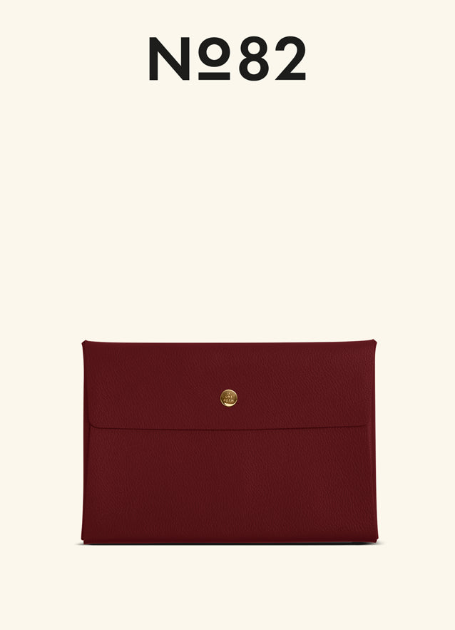 LARGE LEATHER ENVELOPE