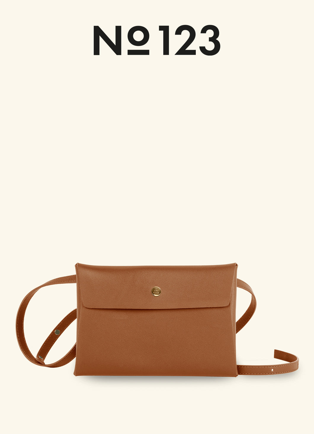 LEATHER ENVELOPE WITH STRAPS