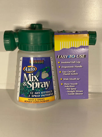 Auto Mix & Spray Hose End Sprayer