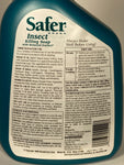Safer Insect Killing Soap Ready to Use (RTU) 32 oz.