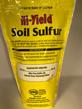 Soil Sulfur 4lb.- Hi-Yield