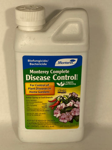 Monterey Complete Disease Control Fungicide Concentrate-1 Pint