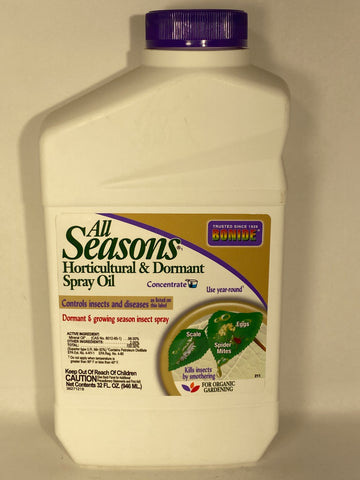 All Seasons Horticultural & Dormant Spray Oil Concentrate 32oz.- Bonide