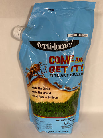 Come and Get It!- Fire Ant Killer with Spinosad- 1 lb.- Ferti-lome