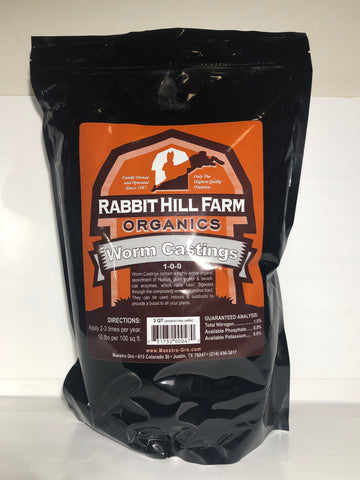 Rabbit Hill Organics Worm Castings- 4Lb