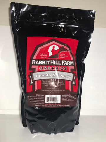 Rabbit Hill Farm Organics Tomato and Pepper Food 4Lb