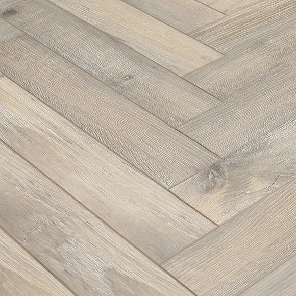 Herringbone Bleached Beach - Flooring Warehouse