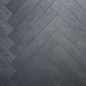 Herringbone Black - Flooring Warehouse