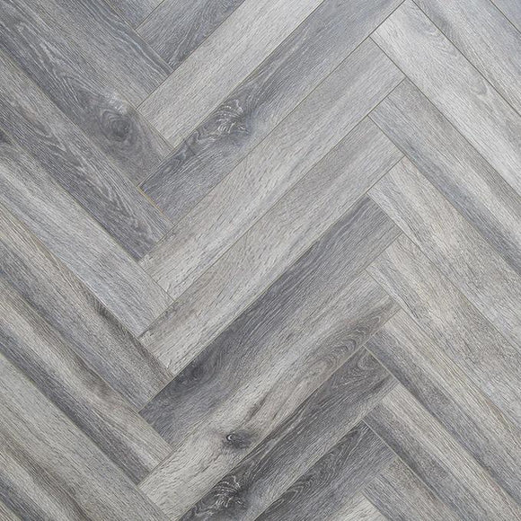 Herringbone Grey Wash - Flooring Warehouse