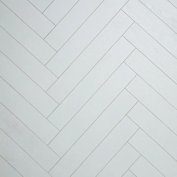 Herringbone White - Flooring Warehouse
