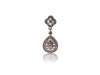 Jaipur Teardrop Earrings Silver