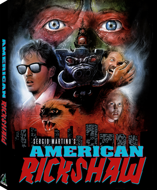 SOLD OUT American Rickshaw (Limited Blu-ray w/ Slipcase)