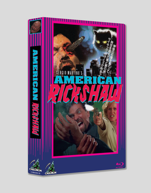 American Rickshaw (Cover B Limited Hardbox Blu-ray)
