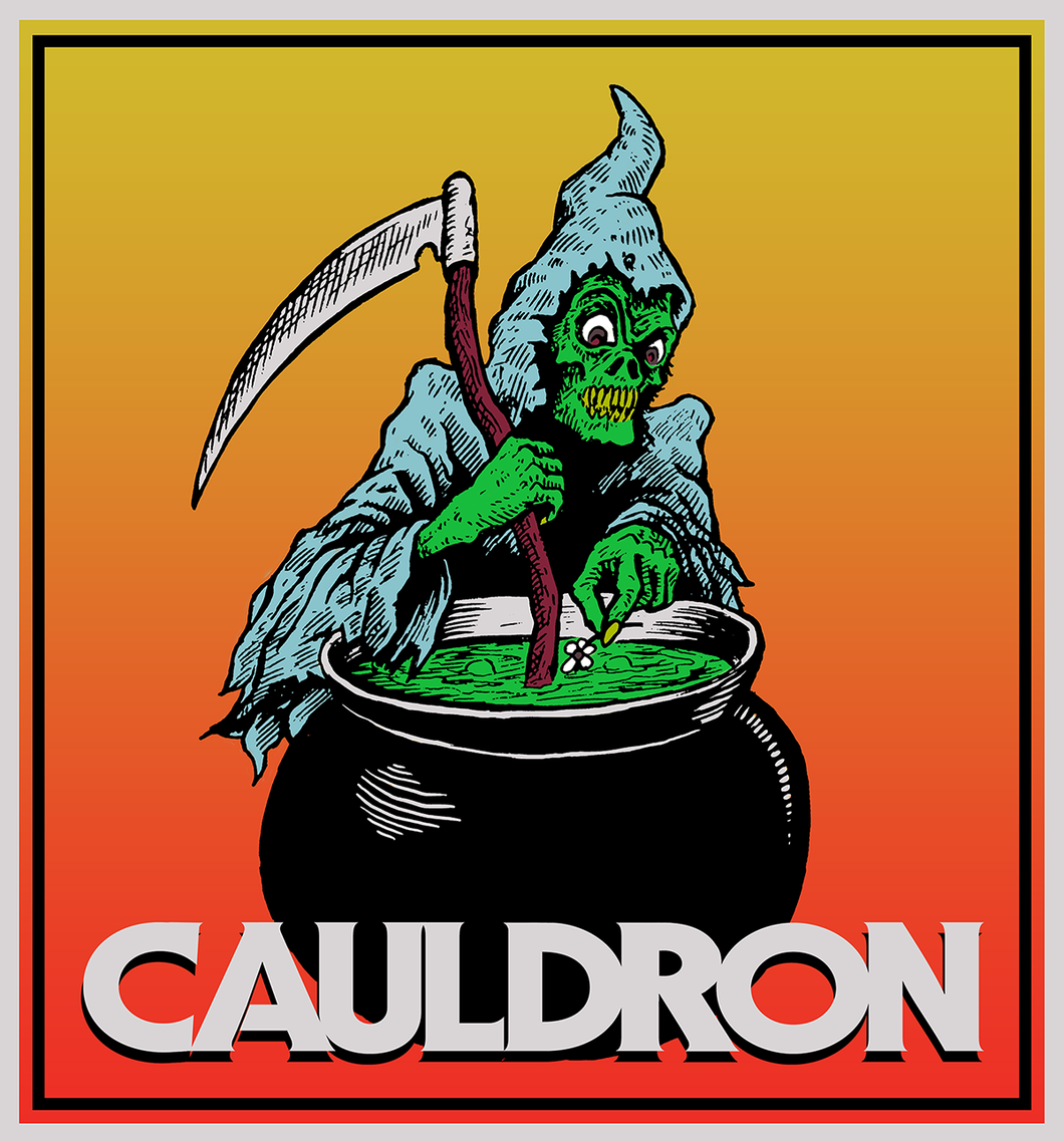 Cauldron Films - Holographic Sticker