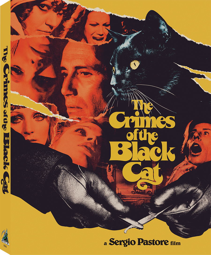 The Crimes of the Black Cat (Limited Blu-ray/CD set w/ Slipcase)