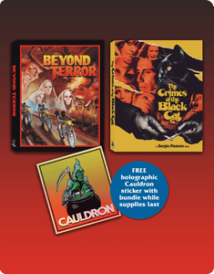 Beyond Terror / The Crimes of the Black Cat (Limited Blu-ray bundle)