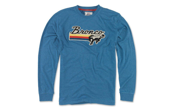 Bronco Shirt Ford Blue A - Detroit Historical Society