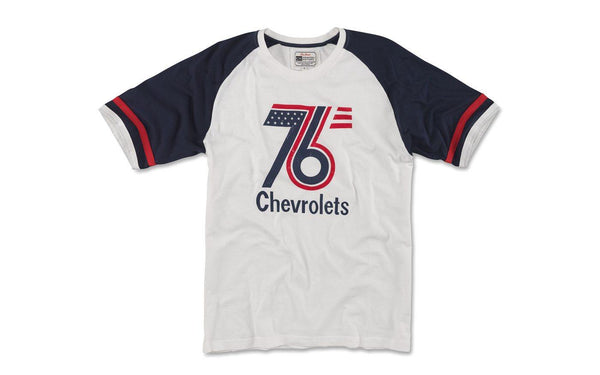 76 Chevrolet Remote Control t-shirt by Red Jacket - Detroit Historical Society