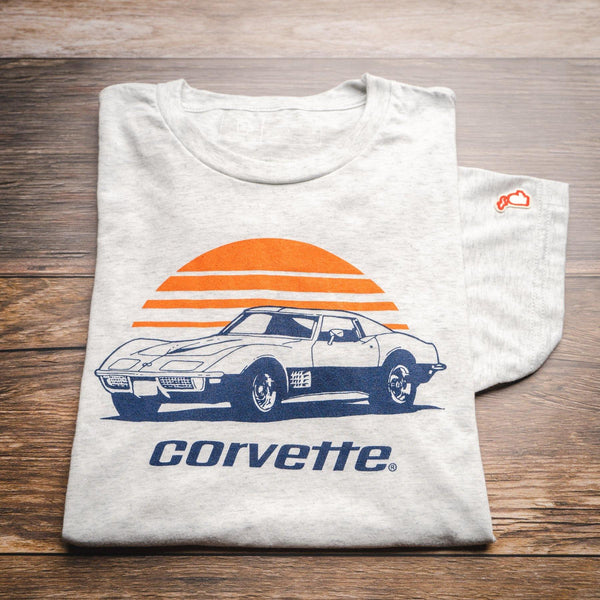 Corvette Vintage Sunrise T-Shirt General Motors - Detroit Historical Society