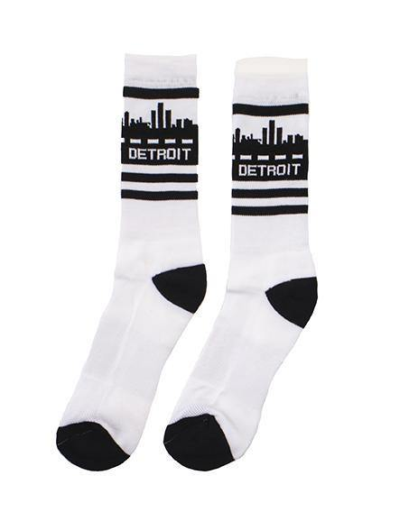 Detroit Skyline Socks - Detroit Historical Society