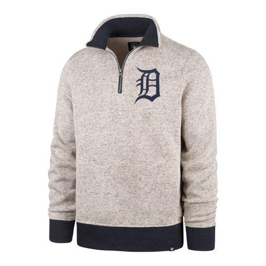 Detroit Tigers Anchor Kodiak 1/4 Zip Grey