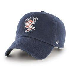 Detroit Tigers Batting Tiger Clean Up Hat - Navy