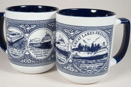 Duo-Tone Great Lakes Freighters Mug