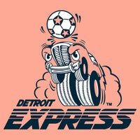 Detroit Express Vintage Soccer T-Shirt - Sunset - Detroit Historical Society