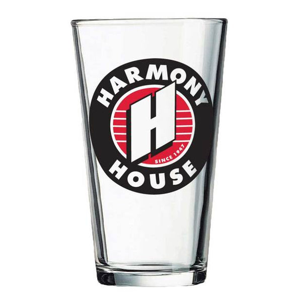 Harmony House Pint Glass