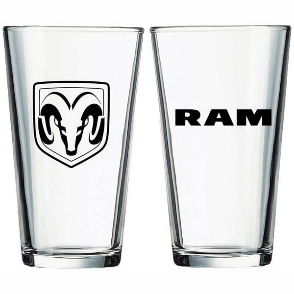 Dodge Ram Truck Pint Glass