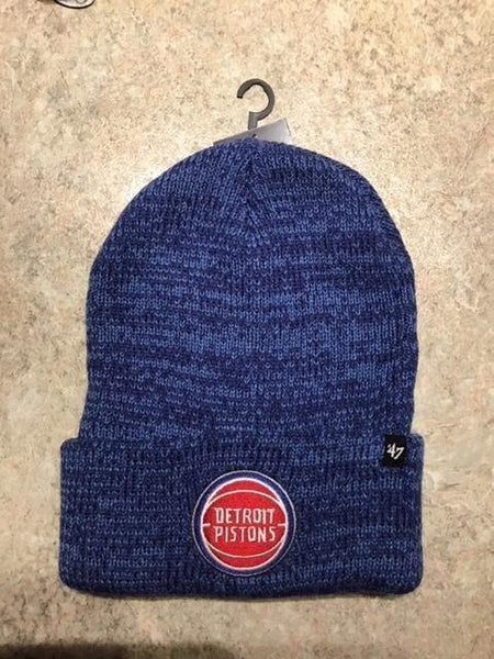 Detroit Pistons Brain Freeze Cuff Knit by 47 Brand - Detroit Historical Society