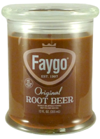 Faygo Candle 12oz 'Root Beer' - Detroit Historical Society
