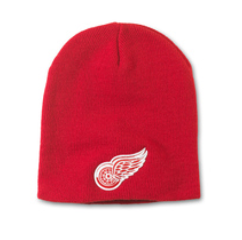 Detroit Red Wings Cuffless Knit Hat