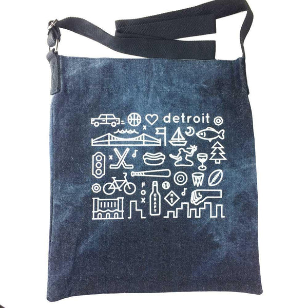 Detroit Icons Tote Bag - Detroit Historical Society