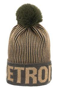 Detroit Gold Twist Pom Hat - Detroit Historical Society