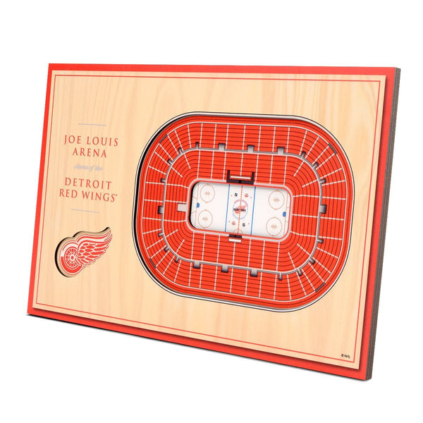 NHL DETROIT RED WINGS 3D STADIUMVIEWS DESKTOP DISPLAY - JOE LOUIS ARENA