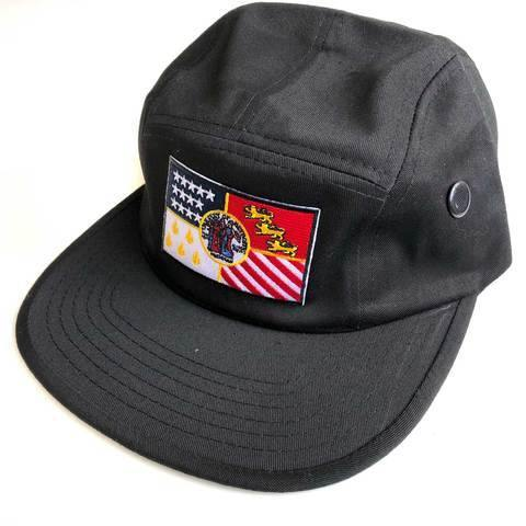 Detroit City Flag 5 Panel Hat, Military Style Cap - Detroit Historical Society