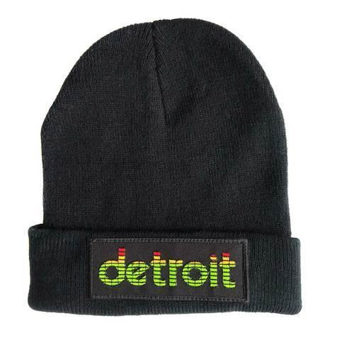 Peak Detroit, LED Audio Level Meter Beanie Cap