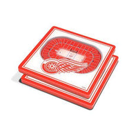 Detroit Red Wings Coasters - Detroit Historical Society