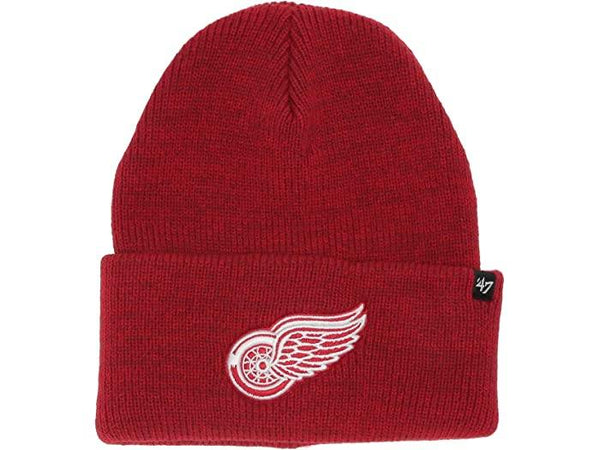 Detroit Red Wings Brain Freeze Knit Hat 47 Brand