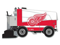 WinCraft Detroit Red Wings Red & White Ice Hockey Zamboni Metal Lapel Pin - Detroit Historical Society
