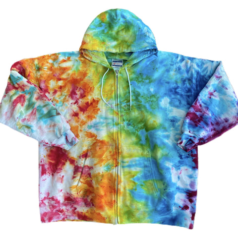 Custom zip up hoodie - 2XL one of a kind