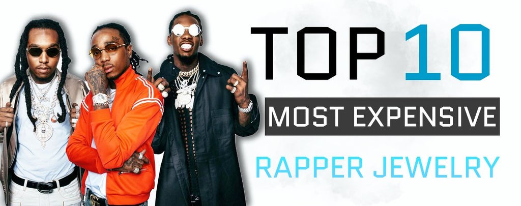 TOP 10 MOST EXPENSIVE RAPPERS JEWELRY !