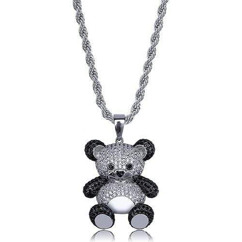 Iced Out bear chain