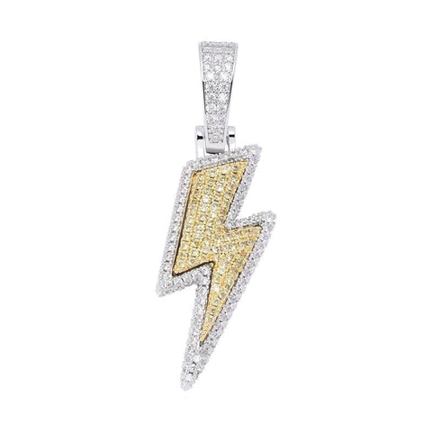 Iced Out Pendant Lightning